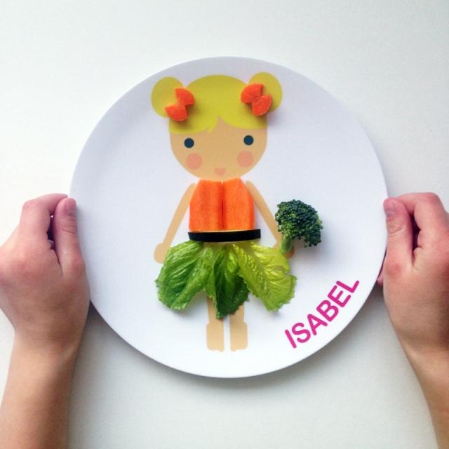 Dylbug Little Me Vegi Plate